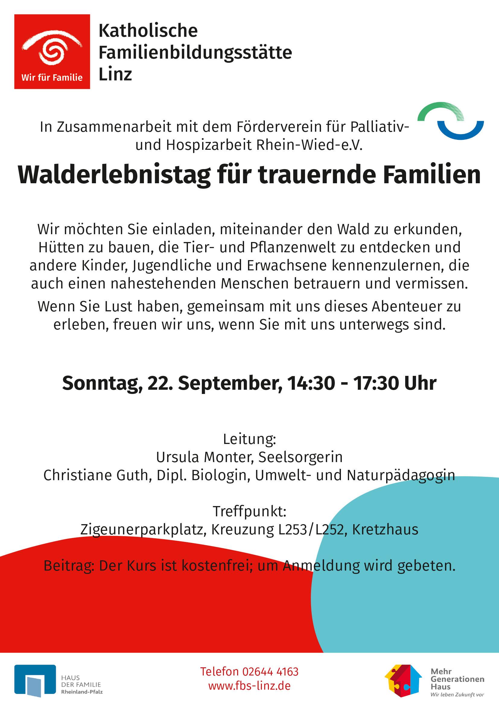 Walderlebnistag Linz am Rhein